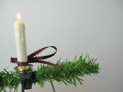 Vintage Lot Of 3, 10 Drip Candle Accent Christmas Tree Lights Clip On String Set