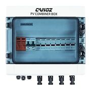 -pv4/1 Pv Combiner Box 4 String With 15a Rated Current Fuse 63a Circuit