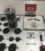 Vintage Rca 6l6gc Tube Nos Tested. Lv Date Code =june 1960. Rare