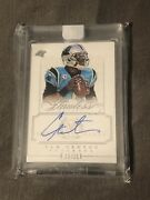 Panini Flawless Panthers/ Patriots Sealed Auto Cam Newton /25 2014