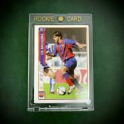 Lionel Messi Soccer Card Fc Barcelona Spanish Nm Rookie W/tracking