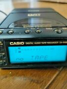 Casio Portable Dat Player &recorder Da-r100 With New Tape Working And Sounds