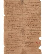 Antique Document Baltimore Co. Maryland 1762 William Digges / Edward Williams