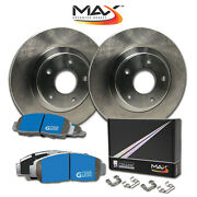 2007 2008 Ford Explorer Sport Trac Oe Replacement Rotors M1 Ceramic Pads R