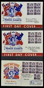 Lot 34118 Stamp Collection Australia Fdcand039s 1944-1952.