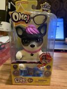 Little Live Pets Omg So Soft Squishy Purple Hair Pup Singing Musical - New
