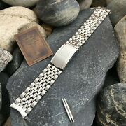 17.25mm 11/16 Beads Of Rice 1970s Vintage Watch Band Kestenmade Bambi Diver Nos