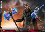 Hot Toys Mms557 1/6 Avengers Endgame Thor Fat Viking Male Collectible Figure Toy
