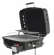 Flame King - Ysnht500 Rv Or Trailer Mounted Bbq - Motorhome Gas Grill - 214 Sq