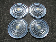 Factory 1958 1959 Cadillac Hubcaps Wheel Covers Set