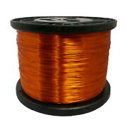 22 Awg Gauge Enameled Copper Magnet Wire 5.0 Lbs 2508' Length 0.0281 240c Nat