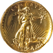 2009 Ultra High Relief Gold 20 Ngc Ms69
