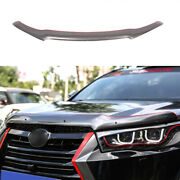 Gray Painted Hood Bug Stone Chip Deflector Guard For Toyota Highlander 2014-2019