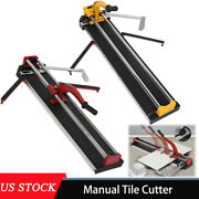 23/32in Manual Tile Cutter Porcelain Floor Tiles Powerful Cutting Machine Easy