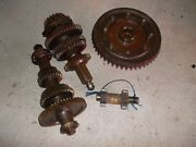 Farmall Super M Tractor Complete Set Up Low Pinion Ih Transmission Gears Shafts