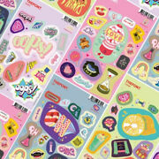 The Font Stickers 4 Sheets Love Oops Thank Oh Planner Photo Decoration Decal