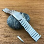 Rare Stainless Steel 19mm Kestenmade Bambi 1970s Nos Vintage Watch Band