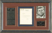 John F. Kennedy - Typed Letter Signed 04/15/1953