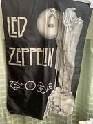 Led Zeppelin Tapestry W/ Man N Lantern 2004. Zofo. Made In Italy