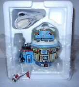 Dept 56 Arctic Game Station Elf Land North Pole Series Lighted New In Box