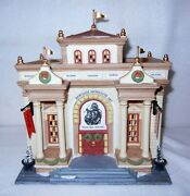 Dept 56 Christmas In The City, Heritage Museum Of Art, Honoring Thomas Nast