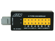 Aem 8-channel K-type Thermocouple Egt Can Module Programmable Dtm Connector Plug