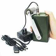 Hand Crank Generator High Power Charger For Outdoor Mobile Phone Computer Cha...