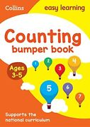Counting Bumper Book Ages 3-5 Ideal For Home Learning Collins Easy Learning ,