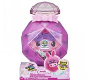 Pikmi Pops Cheeki Puffs Girl Fuzzin The Bunny, Large Scented Shimmer Plush Toy
