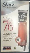 Oster Classic 76 Universal Motor Clipper Cl-76076 With Extra Blades-new/open Box