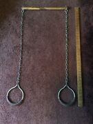 Antique Vintage Circus Show Performer Trapeze Artist Act Big Top Swing Bar