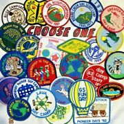 41 Patches, Butano Girl Scout Camp Ca, Day Camps Sfgsc And Unknown, Choose One