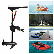 Saltwater Transom Mounted Electric Trolling Motor Fishing Boat Outboard Motor