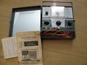 Sencore Transistor Tester And Signal Generator / Tested / Working / Manual / Cords