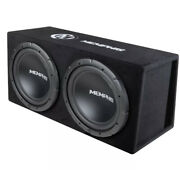 Memphis Audio Srxe212vp Powered Dual 12 Bass System / Ported Box, Speakers, Amp
