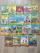 Lot Of 19 Leap Frog Tag Interactive Readers Books Phonics Vowels Consonants