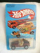 Le- Vintage 1982 Hot Wheels Jeep Cj-7 Malaysia Mip Unpunched 16253