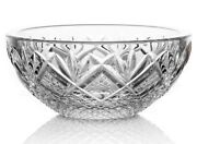 New Waterford Crystal Rosalee 4 Ring Bowl - Vanity Cufflink Holder - New In Box