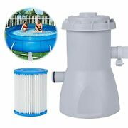 Adust Pool Filter Pumps Above Ground - Clear Cartridge Filter Pump For Inflatabl
