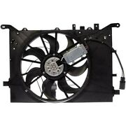 621-491 Dorman Cooling Fan Assembly New For Volvo S80 S60 2004-2005