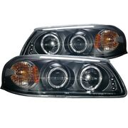 121339 Anzo Headlight Lamp Driver And Passenger Side New For Chevy Lh Rh Impala