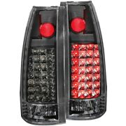 311006 Anzo Set Of 2 Tail Lights Lamps Driver And Passenger Side New Lh Rh Pair