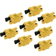 140043-8 Accel Set Of 8 Ignition Coils New For Chevy Avalanche Express Van Gmc