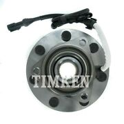 515030 Timken Wheel Hub Front Driver Or Passenger Side New 4wd 4x4 4-wheel Abs