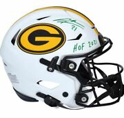 Charles Woodson Green Bay Packers Signed Flex Authentic Helmet With Hof 2021