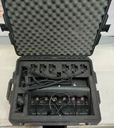 Motorola Ht1 250 Radios - 6 Pack Kit With Gang Charger And Hard Caseandnbsp