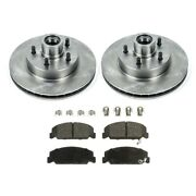 Brake Disc And Pad Kit New For Chevy Olds Le Sabre De Ville Suburban Express Van