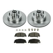 Brake Disc And Pad Kit New For Chevy Olds Chevrolet Caprice Cadillac Fleetwood