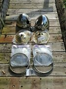 1933 1934 Ford Head Lamp Headlight Parts Lot New Repro And Used Oem Hot Rod Scta