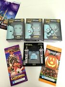 Disney Funko Pop Haunted Mansion Hitchhiking Ghost And Doom Buggy Pin Set Le